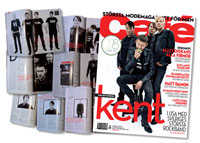 kent interview in caf� magazine